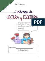 Cuadernos de Lectoescritura 1 y 2