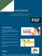 dreams and sleep