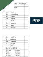 Material de Simbolos Gramaticales Montessori Excel