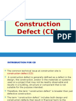 Construction Defect (CD)