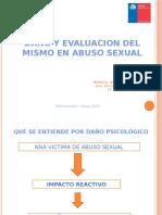 EVALUACION PSICOLOGICA DE DAÑO EN NNA VICTIMAS DE ABUSO SEXUAL