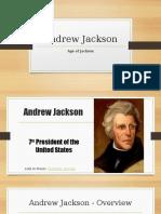 andrew jackson  reduced