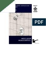 Instalaciones Hidráulicas y Sanitarias - Mezclador Monocontrol 4