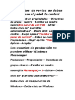 Directivas de Grupo Rutas