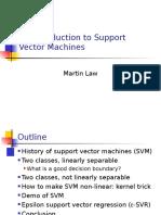 Support vector machin, an excellent tool