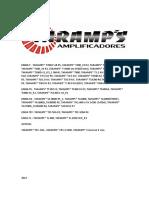 Esquemas Amplificadores Taramps