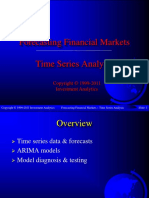 Forecasting 2011 - Time Series