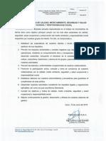 Politica Integrada de Calidad Medio Ambiente Seguridad y Salud Ocupacional y Responsabilidad Social.pdf
