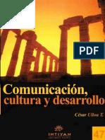 Comunicación Cultura y Desarrollo