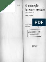 El Concepto de Clases Sociales, Georges Gurvitch, Ediciones Nueva Visión, Buenos Aires, 1967