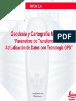 Actualización y Transformación de Datos Con GPS