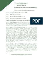 Alianza Verde Ecologista- Estatutos Generales