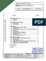 P.sgc.DG-02, Rev 4 Control de Registros
