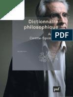 Dictionnaire Philosophique - André Comte-Sponville