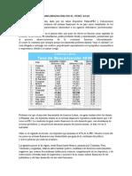Bancarización en El Perú