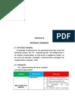 Ejemplo de Capitulo III, IV, V, VI  proyecto de tesis