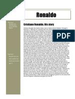 ronaldo newsleter