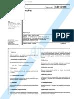 NBR 9816 - Piscinas