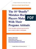 heo 10 pregame mistakes