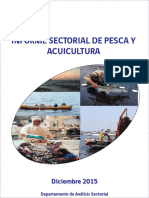 INFORME SECTORIAL DE PESCA  2015