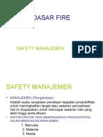 Dasar-dasar Fire Safety