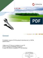 102 - Ceragon - IP-10G Install - Presentation v1.1