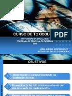 I Clase de Toxicología