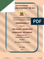 Normal Id Ad Molalidad Molaridad Formal Id Ad