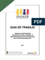 Guia de Trabajo Estrategias Pedagogicas 100214