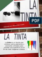 Exposición de Tic's Sobre El Tema La Tinta