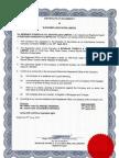 Certificado de titularidad