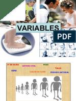 Variables Teoría