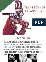 9. Trastornos de Ansiedad