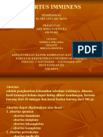 ABORTUS IMMINENS-Ade.ppt Power Point