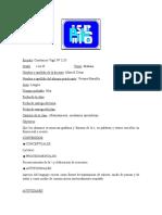Planificacion 3 de La Letra t 1er Grado Lengua.