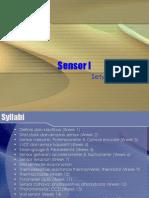 Sensor week 01- Pendahuluan