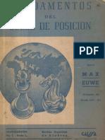 Fundamentos Del Juego de Posición - Euwe, M - 1941, 1954