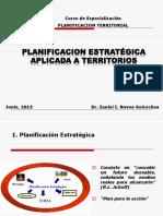 Planif Estrategica Aplicada a Territorios pucp