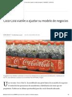Coca-Cola Vuelve a Ajustar Su Modelo de Negocios - 24.03