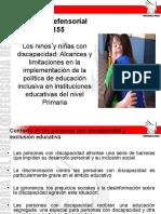 PPT Informe 155 - Educación Inclusiva.ppt