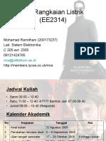 MK Rangkaian Listrik (EE2314)