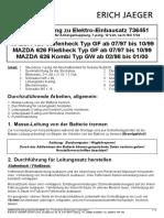 Mazda El Satz 112021
