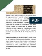 Adobe Barro
