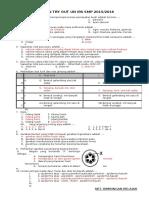 Latihan Try Out Un Ipa Smp 2015