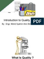 Quality Management Slide