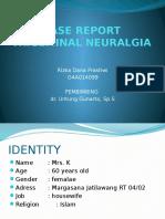 trigemminal neuralgia