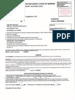NAJARIAN HOLDINGS LLC vs. BRENDA BRYANT...EXPEDITED CASE # 16DE006086 with DEFENDANT'S ANSWER