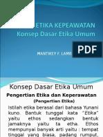 1. Konsep Dasar Etika Umum