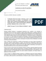 Breve Panorama Dos Contratos No Setor de Petróleo - Jus Navigandi