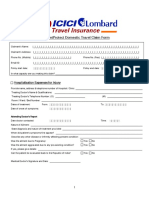 Jetprotect Travel Insurance Claim Form Within India